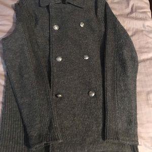 Zara Man blazer gray